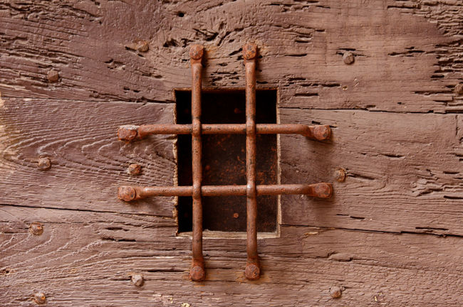 Architecture Backgrounds Close-up Creativity Door Full Frame Geometric Shape Metallic Mettalic No People Old Patterned Rusty Textured  Wooden