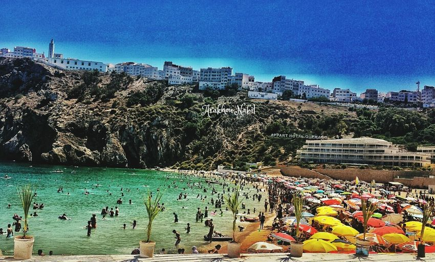Quemado beach from Alhoceima Morocco