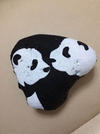 Painted Rock Representation Close-up Art And Craft No People Creativity Emotion Wall - Building Feature