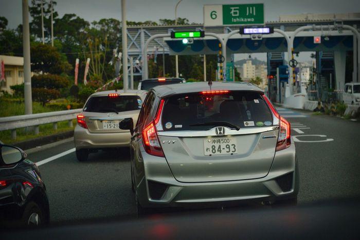 Car Street Photography EyeEm D800 Nikonphotography Nikon Okinawa Japan Eyemphotography Eyeem Collection EyeEm Gallery Street Fashion Travel Street Honda Honda Fit fit
