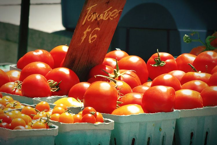 Tomatoes at my local outdoor market