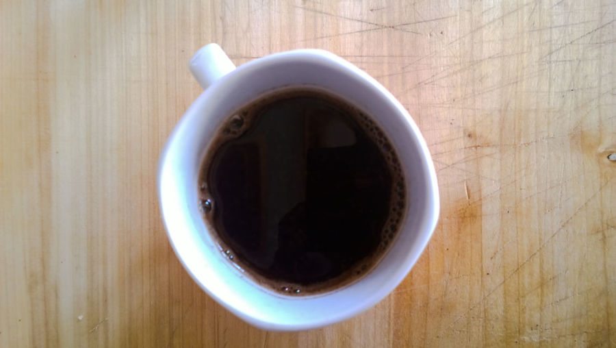 Beverage Black Coffee Cafexperiment Close-up Coffee Coffee Coffee - Drink Coffee Cup Cup Directly Above Empty Freshness No People Overhead View Refreshment Saucer Still Life Tea Cup The Photojournalist - 2016 EyeEm Awards Wood - Material Wooden