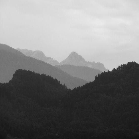 Rhythm Slovenia ❤ Iloveslovenia Slovenia Bled Mountain Silhouette Bnw Blackandwhite Blackandwhite Photography