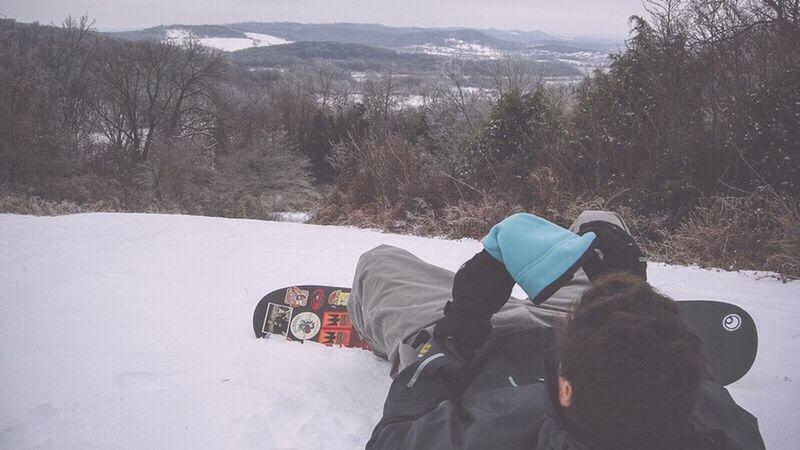 Sledding My Backyard Franklin Tennessee Snow Christmas 2011 Skiing Sledding Snowboarding Friends Hills Tn