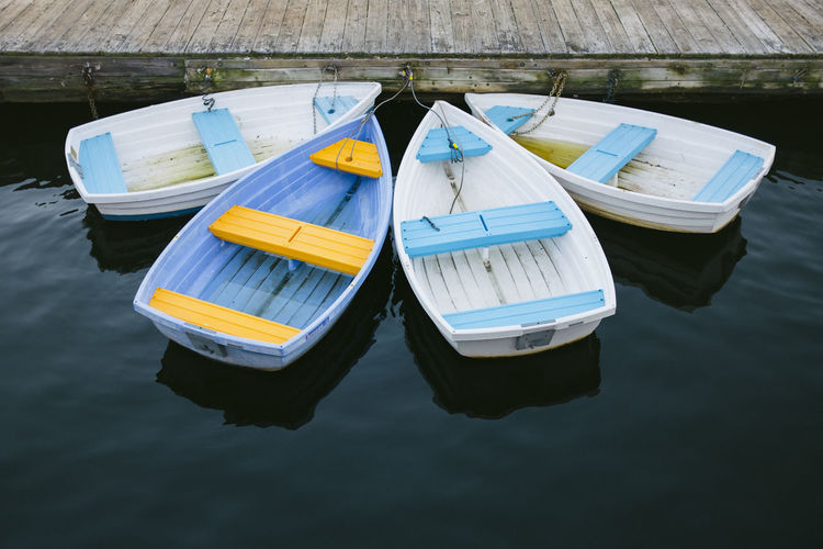 Summer Row Boats Colors Row Boat Summertime Boat Boats Day Dock High Angle View Lake Lakeside Moored Nature Nautical Vessel No People Outdoors Pedal Boat Reflection Summer Transportation Water Waterfront