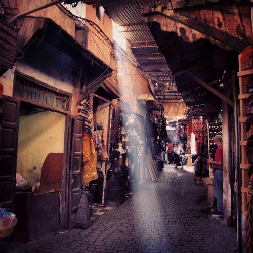 Market Light Light And Shadow Marakesh Marrakech Vintage Shopping