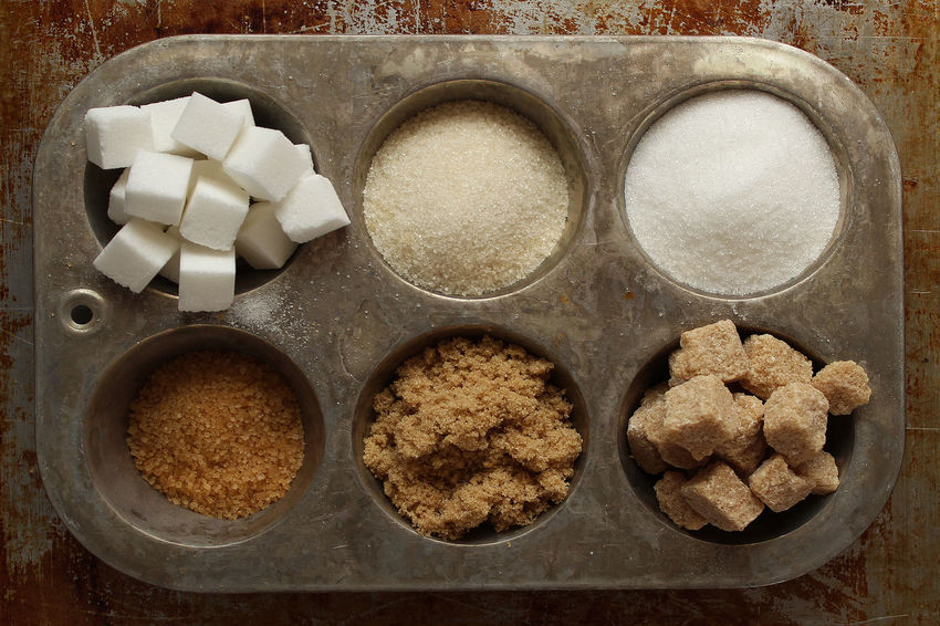 Ingredients Brown Sugar Ingredients Rustic White Stork Baking Close-up Directly Above Food Food And Drink Heap Ingredient Metallic No People Raw Sugar Sugar Sugar Cane Sugar Cube Supplies Sweet Variety View From Above