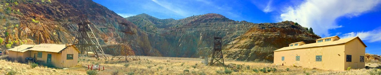 Old mines of Jerome, AZ Mining Town Mining History Of America Jerome Arizona The Great Outdoors - 2017 EyeEm Awards