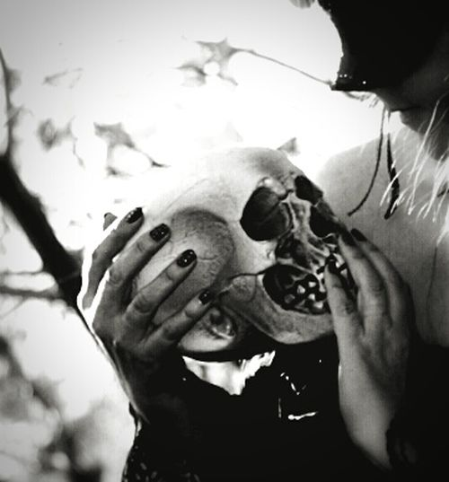 A Woman Scorned A Lover Lost Photo Collection Portrait Fantasy Photography Mystical Skull Last Kiss Fantasy Blackandwhite PhotographyThe Woman Scorned, A Lover Lost Photo Collection, B&W Portrait