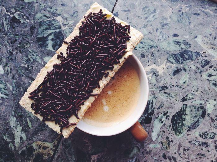 Breakfast Coffee Good Morning Coffee And Sweets The Foodie - 2015 EyeEm Awards