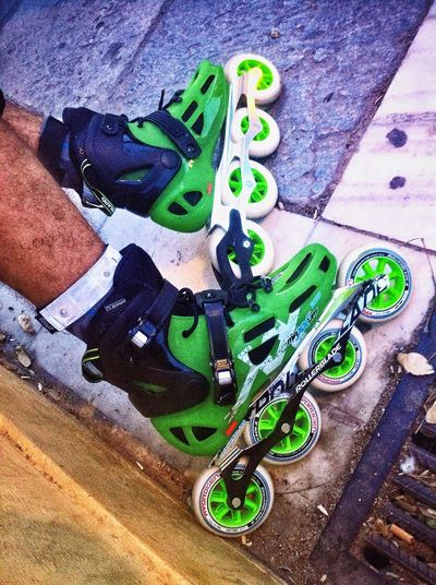 Murcia Patines Rollerblade Skate Life Roller Speed Green New