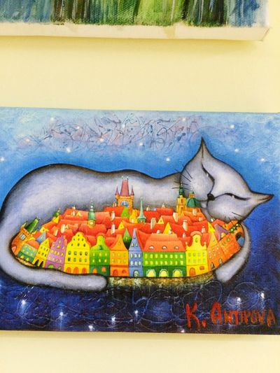 Кот из Праги