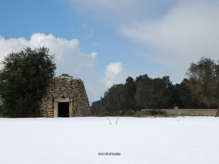Puglia Salento Salento Puglia Built Structure Nature Day Outdoors Scenics Travel Destinations Beauty In Nature Italia Snow No People Cold Temperature