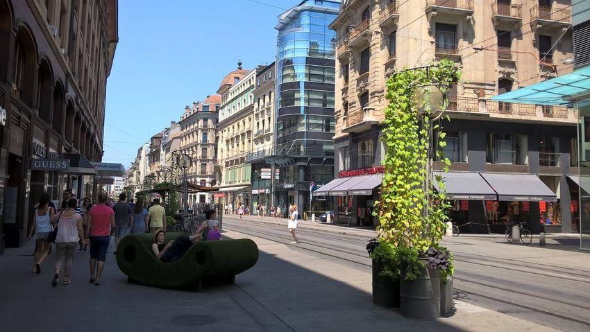 Genève : Centre Ville