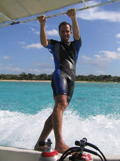 Boat Surfing