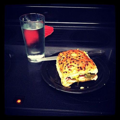 Lunch GenoaSalami Ham Provolone Sprite Pickles 1stDegreeMurder ???
