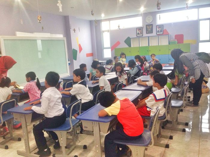 1st Day at D's Elementary School. View By ITag A Place By ITag SDkai By ITag