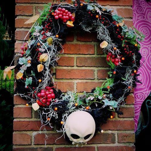 Christmas Disney TDL Helloween Wreath クリスマス ディズニー 東京ディズニーランド Tokyodisneyland ハロウィン リース Thehauntedmansion ホーンテッドマンション Nightmarebeforecrisimas ナイトメアビフォアクリスマス
