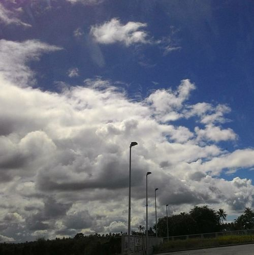 Clouds Cloud - Sky No People Sky Outdoors Daylight Day Daytime Photography Daytime Cellphone Photography Road Roadtrip