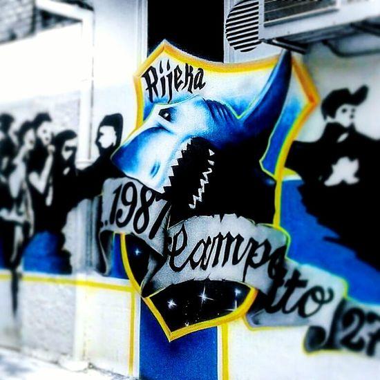 Graffiti Street Art Grafiti Grafiti Art Spray Paint Text Rijeka City Rijeka Rijeka, Croatia Croatia Kvarner City Ultras Hooligans Champion Football ACAB 1987