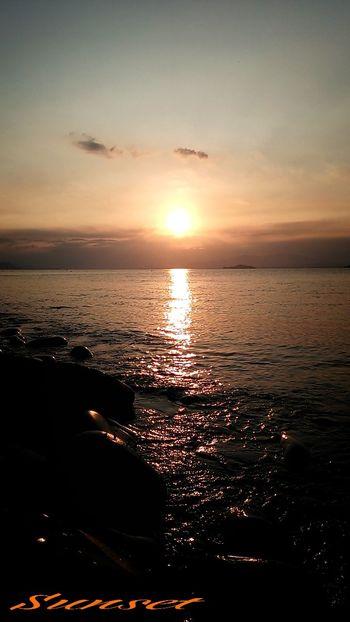 Miyazaki Kushima Sunset Yuka  Spring Relaxing Healing Kirakira Enjoying Life 夕凪