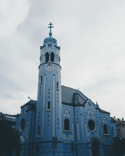 Church of St. Elisabeth. Bratislava Pastel Power
