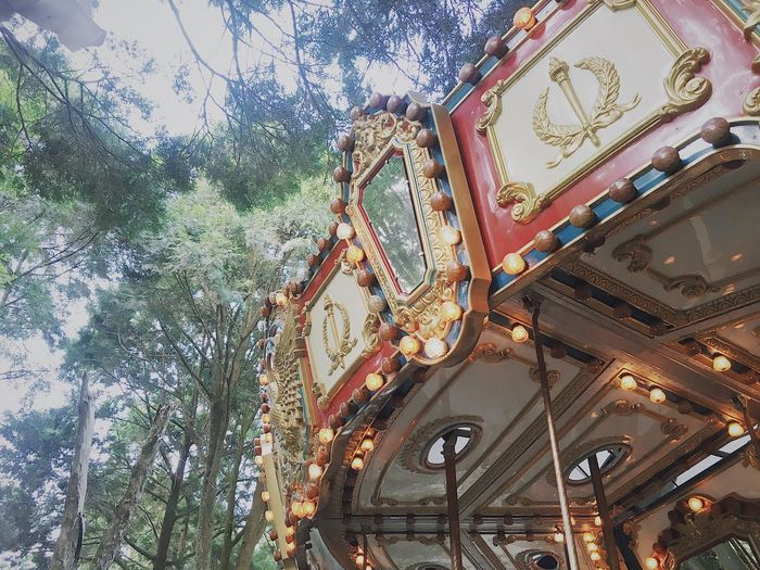 旋。轉木馬 Hsin Taiwan Laugh Fun Children #scenery #forest Merry-go-round EyeEmNewHere