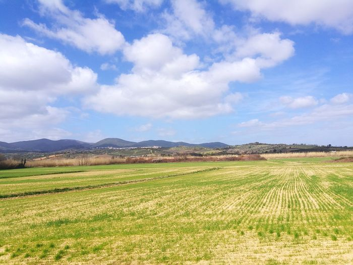 Ossigeno Irrigation Equipment Rural Scene Mountain Agriculture Cereal Plant Field Crop  Vegetable Farm Sky Cultivated Land