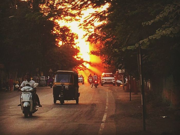 The Street Photographer - 2017 EyeEm Awards City morning People Road Tree Outdoors Sky rays