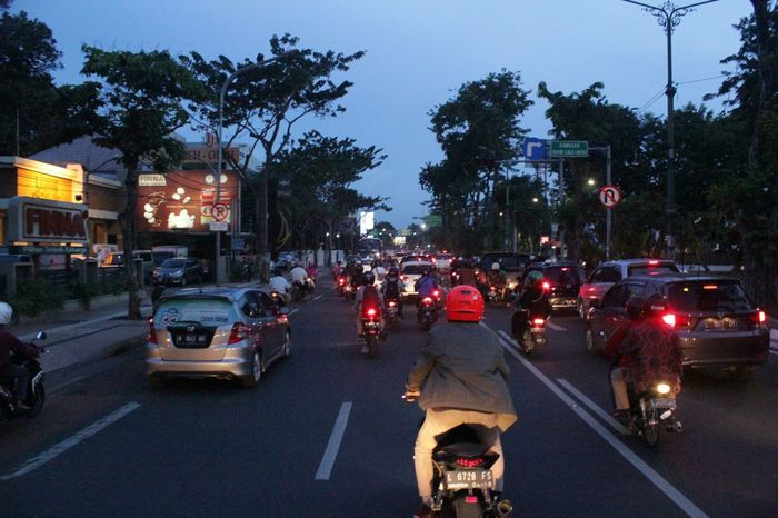 People And Places Surabaya INDONESIA Streetphotography Evening Ride Cbr1000