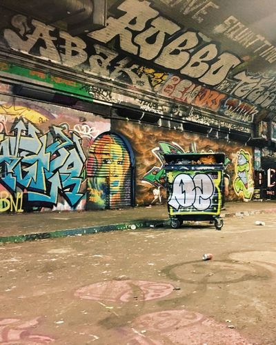 Leake St Tunnel Graffiti London Streetphotography Streetart United Kingdom