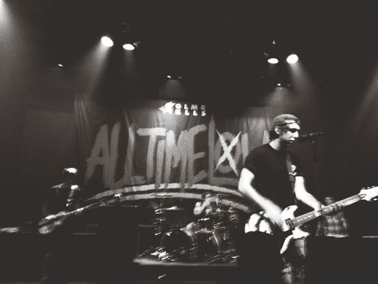 Awesome Performance All Time Low Concert Headbanging