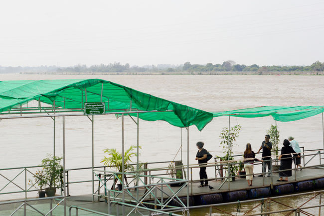 Sea Beach Adult People Only Men Adults Only Men Outdoors Day One Person Architecture Nature Sky River Ubon Thailand