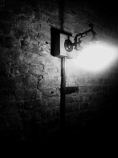 Light Brick Wall Brick Light And Shadow Lighting Urban Photography Blackandwhite