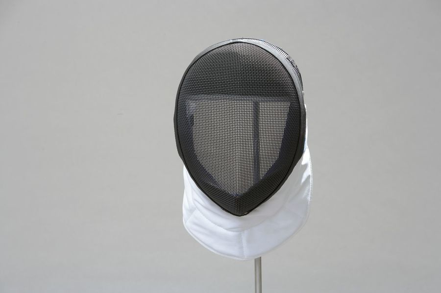 Close-up Day Fencing Helmet Foil-fencing Game Helmet No People Outdoors Sports Helmet Swordplay To Battle To Fence