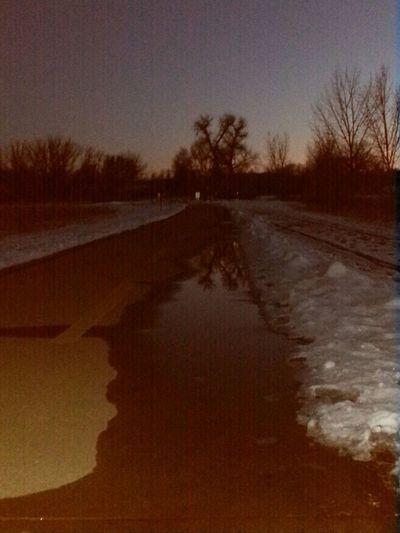 Path 40days Rethinkchurch Nofilter Reflection Sunset