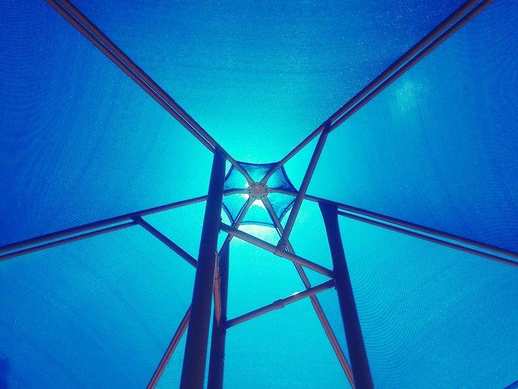 Color Palette I Am Blue Geometry
