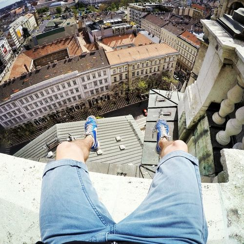 #Basilica #budapest #Gopro Adult Adults Only Architecture Building Exterior Built Structure Day High Angle View Human Body Part Human Hand Human Leg Leisure Activity Lifestyles Low Section Men One Man Only One Person Only Men Outdoors People Personal Perspective Real People Standing