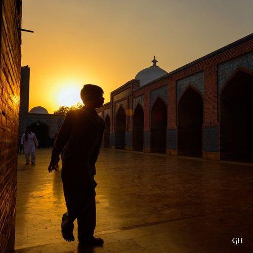 Thatta Makli Shahjahan Mosque Sunset Shoot Kun faya kun Ghalibhasnainphotography