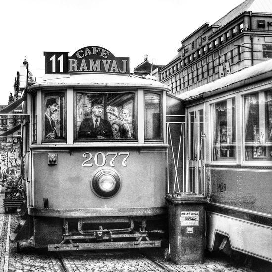 Black&white Street Photography Prague Czech