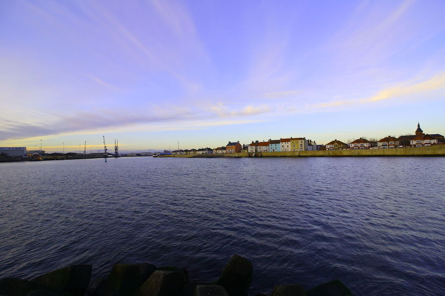 OUT AND ABOUT IN HARTLEPOOL Architecture Water Built Structure Building Exterior Sky Building Cloud - Sky Nature City No People Waterfront River Scenics - Nature Beauty In Nature Travel Destinations Day Outdoors Tranquility