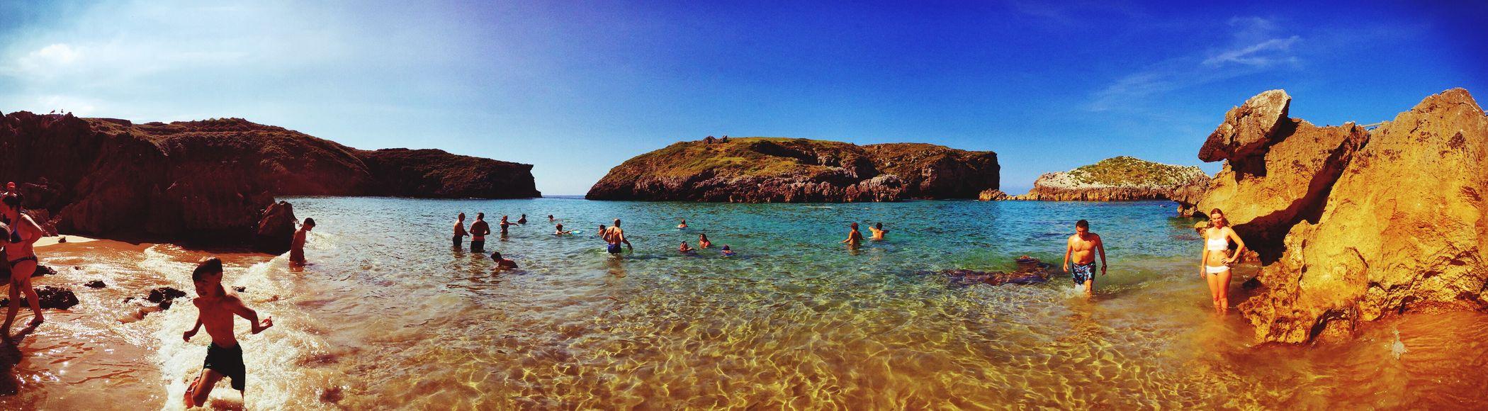 The Great Outdoors - 2015 EyeEm Awards Asturias Swimming Sea Sunshine Enjoying The Sun SPAIN