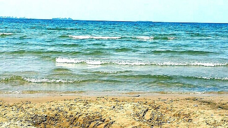 Sandy Beach Waves Crashing Beautiful Place ♥ Peaceful Relaxing Time Great Memories From My Point Of View My Lind Of Heaven Nature Photography Great Atmosphere