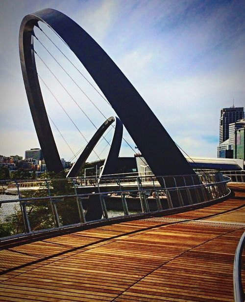 Your Design Story Elizabethquay Perth Perthlife Perthcity Perth Australia Footbridge Beforeopening The Graphic City