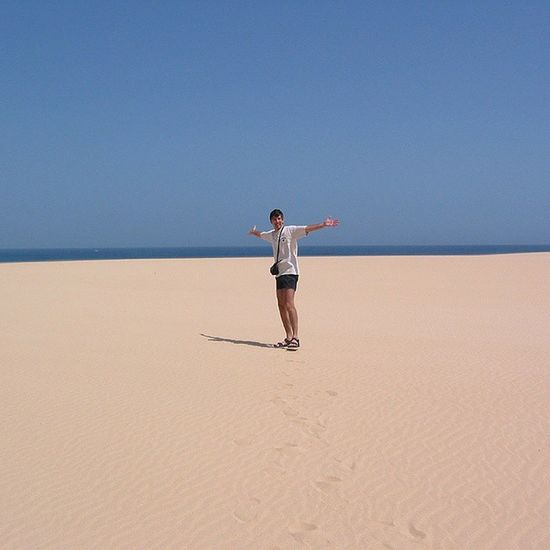 """""""Alles unser ... keiner da!"""" am Traumstrand bei Corralejo Natural Park auf Fuerteventura Selfie Strand Sand Sommer Beach Traumhaft Kanaren Canaryislands"""