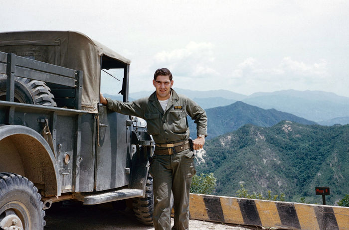 Theodore Zinna Moscow relay 1954 South Korea Adult Casual Clothing Day Front View Land Vehicle Looking At Camera Men Mid Adult Mode Of Transportation Mountain Occupation One Person Outdoors Portrait Real People Smiling Standing Three Quarter Length Transportation Young Adult