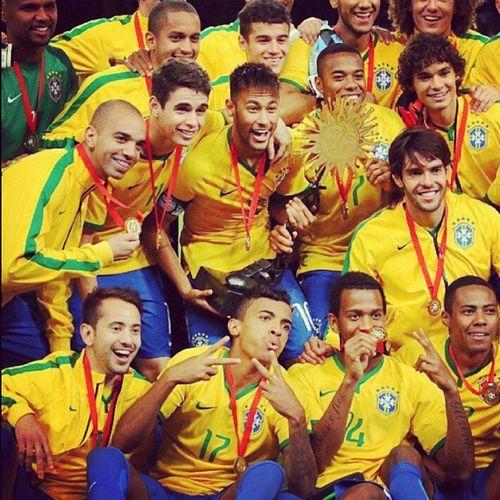 ♡♥♡♥ Brazil2014 Brazil Naymar Kaká oscarrobinho♥♡