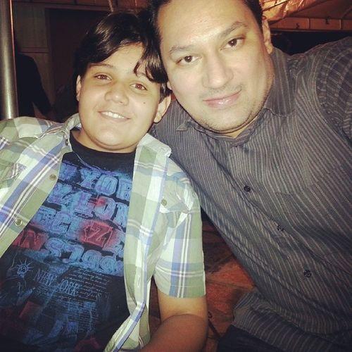 Aniversário vereador Tayrone, com meu filho maravilhoso Emanuel Costa