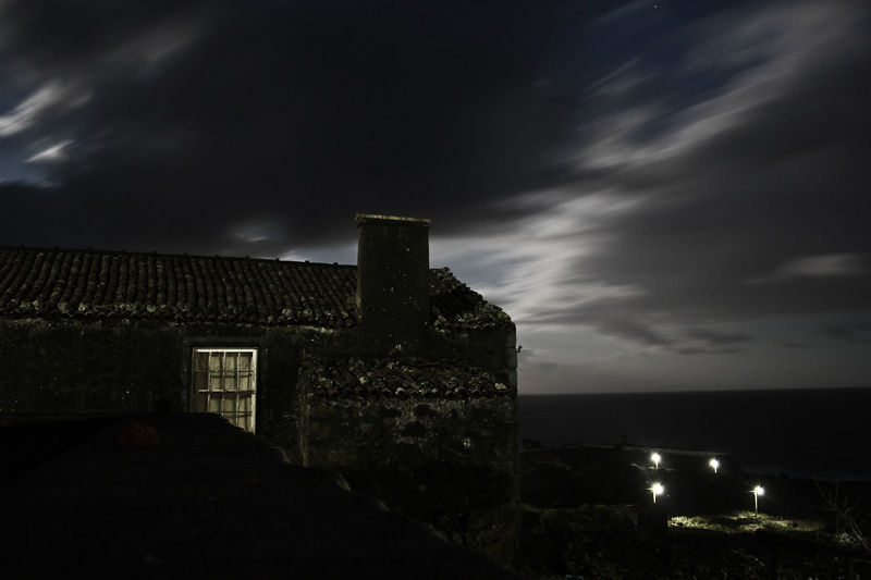 The Great Outdoors - 2015 EyeEm Awards Azores Stone House Ocean View Moonlight They Only Came Out At Night