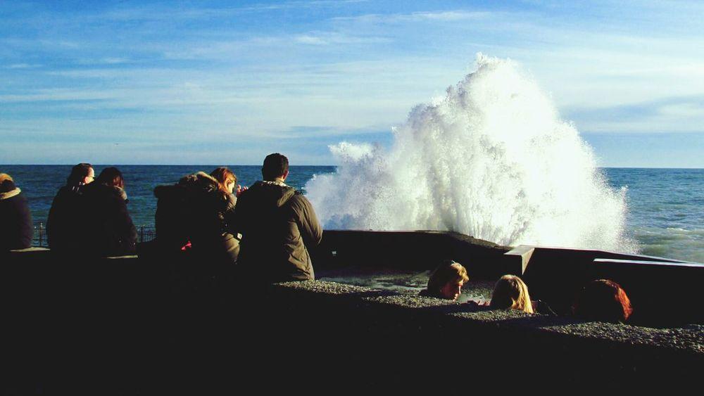 Waves Crashing Landscape_Collection EyeEm Best Shots Leonie Filter